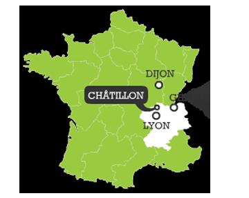 Trouver Châtillon-sur-Chalaronne
